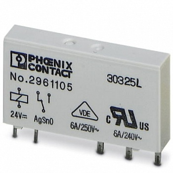 2961134 Phoenix contact  REL-MR- 60DC/21AU  Одиночное реле