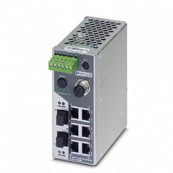 Коммутатор - FL SWITCH SMN 6TX/2POF-PN - 2700290 Phoenix contact